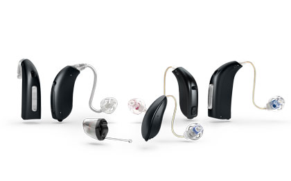 Modern hearing aids come in many styles and sizes